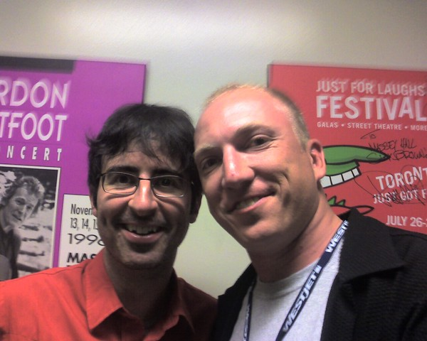 Dave with John Oliver
