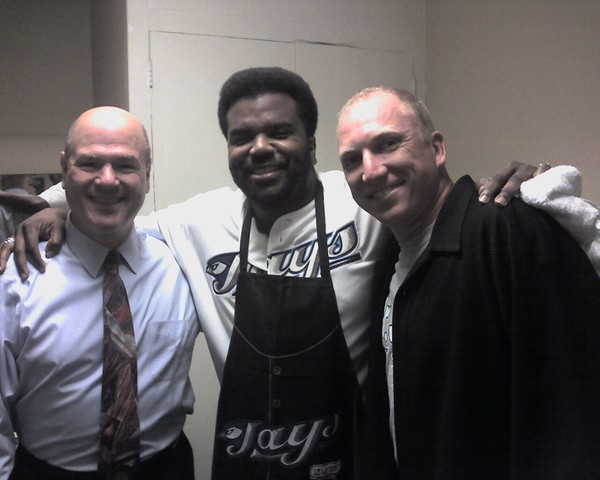 Dave with Larry Miller and Craig Robinson